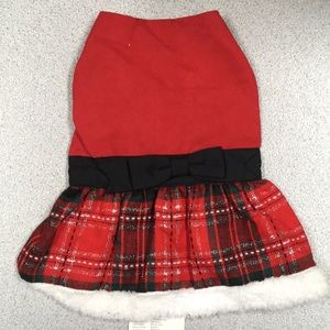 East Side Collection Dog Yuletide Party Dress
